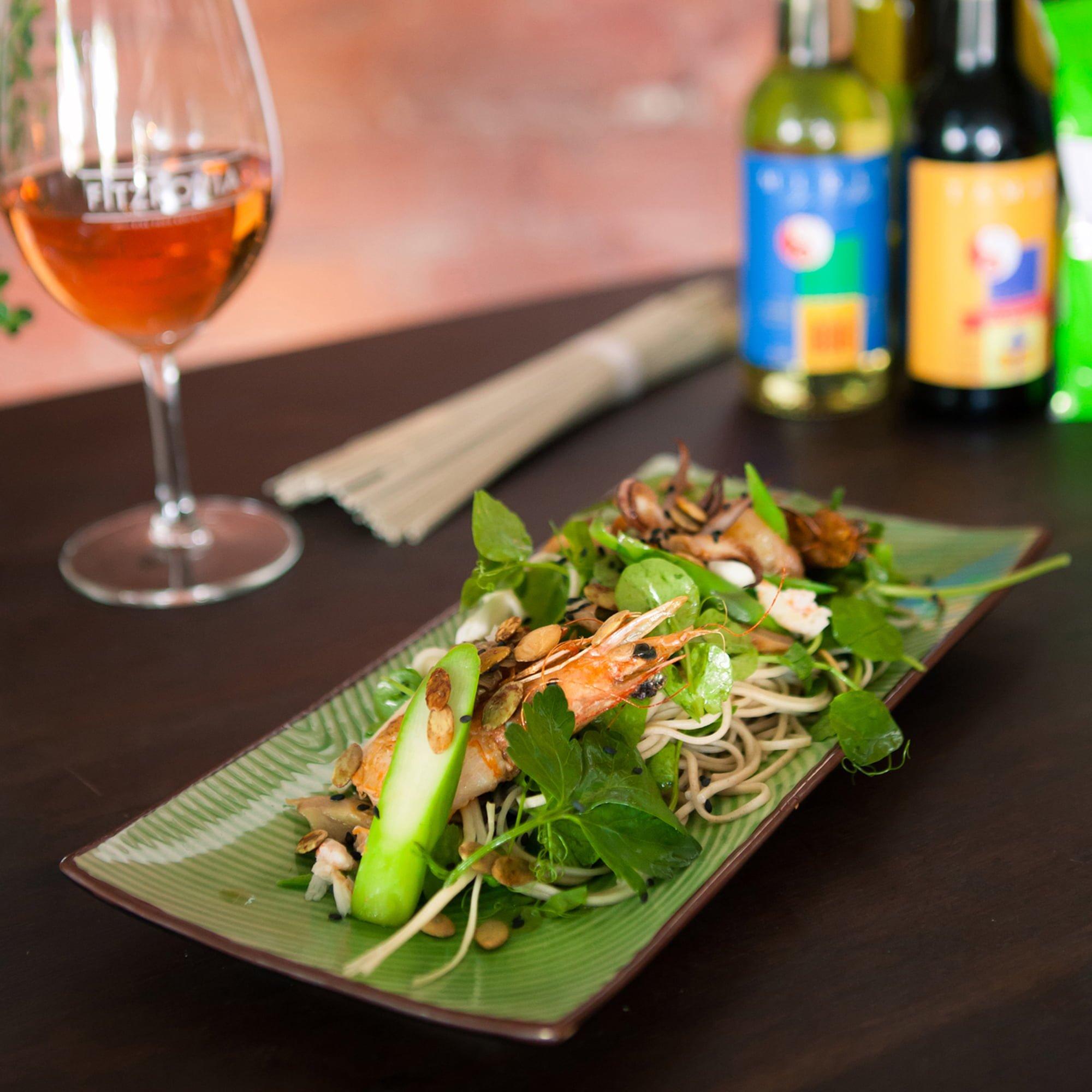 Mirin & Tamari Dressed Seafood Salad
