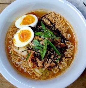 Kimchi Arame Ramen