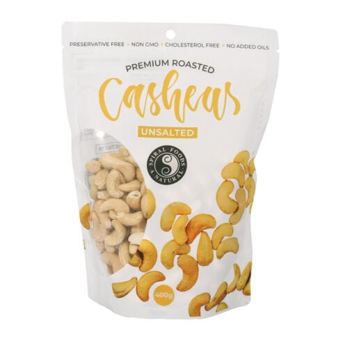 Premium Roasted Cashew Nuts (Unsalted)